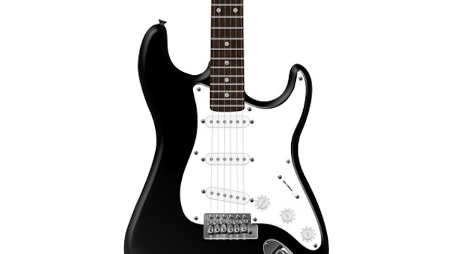 Photorealistic Electric Guitar tutorial for graphic designers with Photoshop