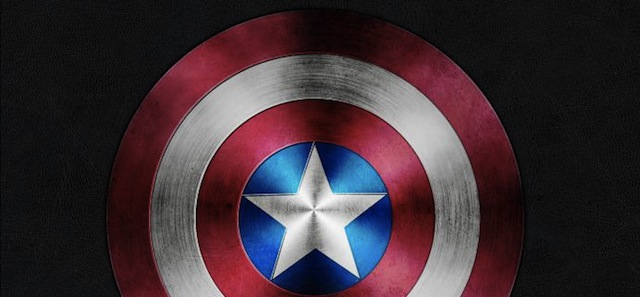 Captain America Shield tutorial for graphic designers with Photoshop