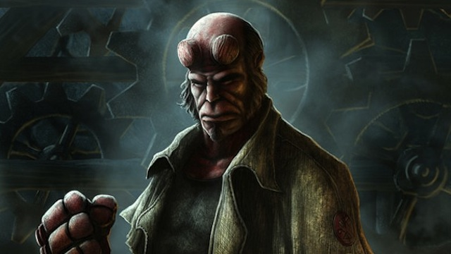 Making of Hellboy tutorial for graphic designers with Photoshop