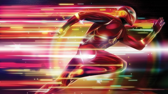 Glowing Superhero Photoshop tutorial for graphic designers