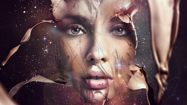 Futuristic Abstract Portrait tutorial for graphic designers with Photoshop