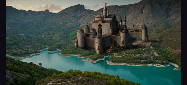 Paint a Castle in Photoshop - Best Photoshop Tutorials