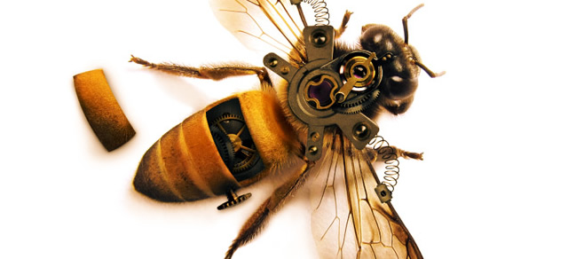 Highly Detailed Steampunk Insect - Best Photoshop Tutorials